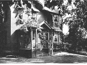 Historical photo of inn