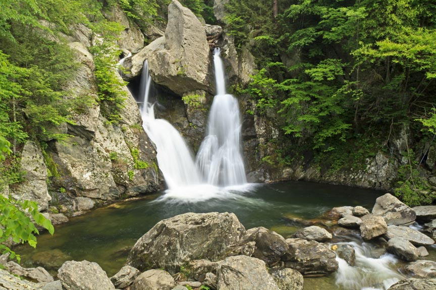 The Hidden Waterfalls Of Berkshire County - Bash Bish Falls