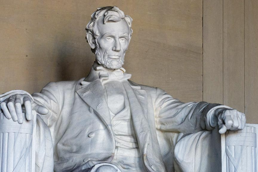 Chesterwood- the Lincoln in the Lincoln Memorial.